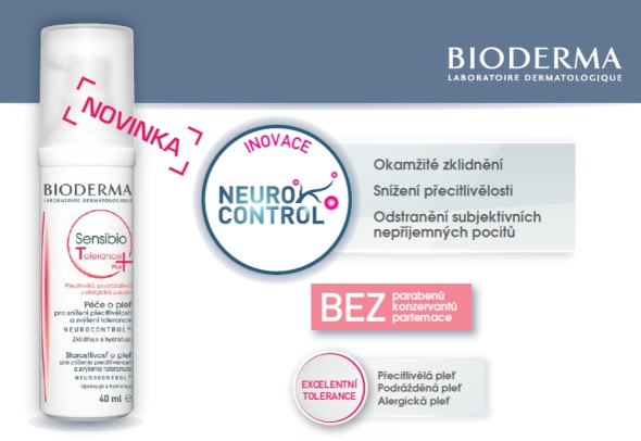 Bioderma Sensibio Tolerance+ NOVINKA