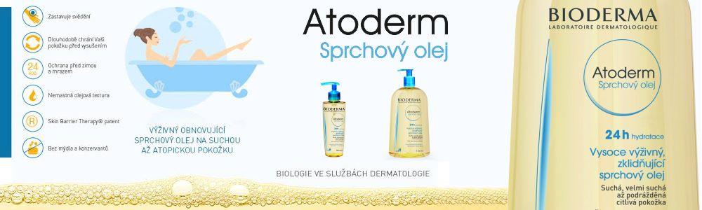 Bioderma Atoderm Sprchový olej 1L